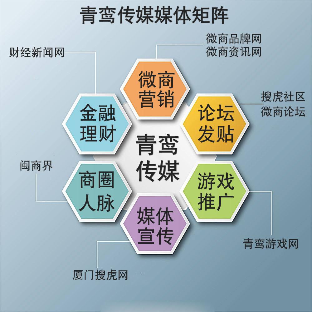 厦门专业网络推广公司找青鸾传媒